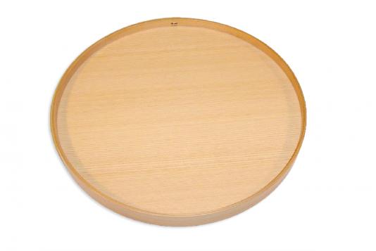 丸盆(白木)